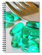 Colourful Medication Spiral Notebook