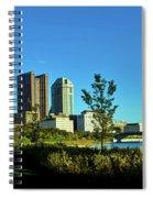 Columbus Ohio Panorama Spiral Notebook