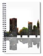 Columbus Ohio Skyline Spiral Notebook