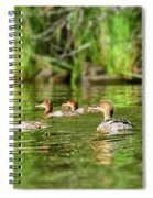 Common Merganser Spiral Notebook