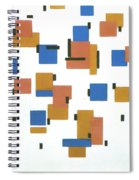 Composition With Colours Spiral Notebook