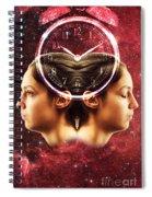 Conceptual Illustration Of Circadian Spiral Notebook