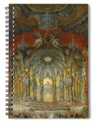 Concert Given By Cardinal De La Rochefoucauld At The Argentina Theatre In Rome Spiral Notebook