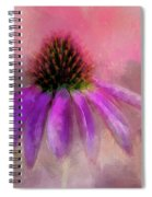 Coneflower Painted Spiral Notebook