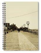 Coney Island Boardwalk Spiral Notebook