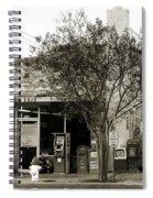 Coney Island Cafe Spiral Notebook