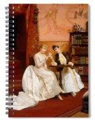 Confidences Spiral Notebook