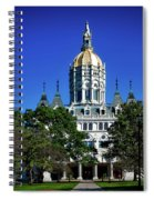 Connecticut State Capitol Spiral Notebook