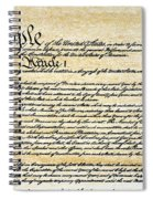 Constitution Spiral Notebook