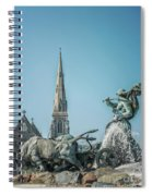 Copenhagen Gefion Fountain Spiral Notebook