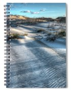 Coquina Beach, Cape Hatteras, North Carolina Spiral Notebook