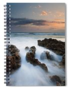 Coral Cove Dawn Spiral Notebook