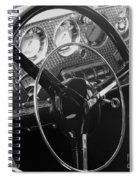 Cord Phaeton Dashboard Spiral Notebook