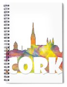 Cork Ireland Skyline Spiral Notebook