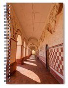 Corridor And Arches Spiral Notebook