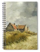 Cottage In The Dunes Spiral Notebook