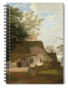 Cottage Scenery Spiral Notebook