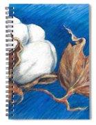 Cotton Picking Blues Spiral Notebook