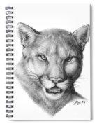 Cougar Spiral Notebook