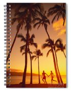 Couples Vacation Spiral Notebook
