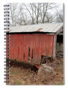 Covered Bridge Spiral Notebook
