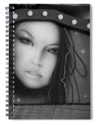 Covered  Spiral Notebook