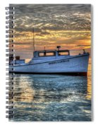 Crabbing Boat Donna Danielle - Smith Island, Maryland Spiral Notebook