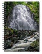 Crabtree Falls North Carolina Spiral Notebook