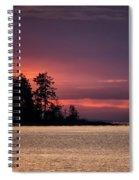 Craig Bay Sunset Spiral Notebook