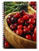 Cranberries In Bowls Spiral Notebook