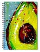 Crazy Avocado Spiral Notebook
