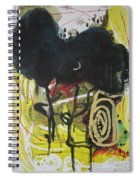 Crescent2 Spiral Notebook
