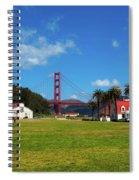 Crissy Field - San Francisco Spiral Notebook