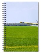 Crop Dusting Spiral Notebook