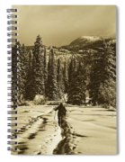 Cross Country Adventure Spiral Notebook