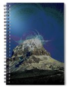 Crowsnest Mountain  Spiral Notebook