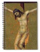 Crucifixion Fragment 1311  Spiral Notebook
