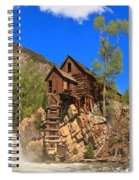 Crystal Colorado Historic Mill Spiral Notebook