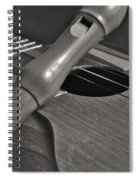 Cuatro Guitar And Flute Spiral Notebook