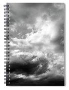Cumulonimbus Clouds  Spiral Notebook