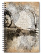 Cupid The God Of Desire 5 Spiral Notebook
