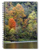 Current River Fall Spiral Notebook