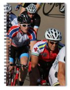 Cycle Racing Spiral Notebook