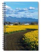 Daffodil Lane Spiral Notebook