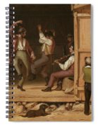 Dance Of The Haymakers Spiral Notebook