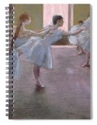 Dancers At Rehearsal Spiral Notebook