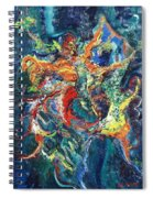 Dancing Butterflies Spiral Notebook
