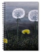 Dandelion Family Spiral Notebook