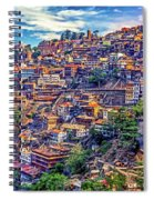 Darjeeling Spiral Notebook