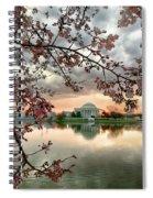 Dc Cherry Blossoms Spiral Notebook